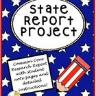 State reports are classically assigned as a rite of 5th grade. This 30 page unit, by The Teacher Next Door is aligned with the Common Core, and wil...