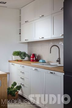 KUCHNIA W STYLU LOFT Loft, Kitchen Cabinets, Studio, Home Decor, Wall, Stone, Projects, Decoration Home, Room Decor