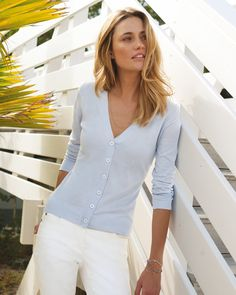 Luxury Fine Cotton Cardigan
