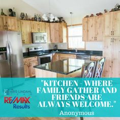 Everyone is always welcome in our kitchen.  #Home #Kitchen #KrisLindahlTeam
