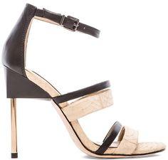 BCBGMAXAZRIA Deanna Heeled Sandals