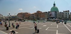 Outside Venice Station, Panorama | by Geraldine Curtis