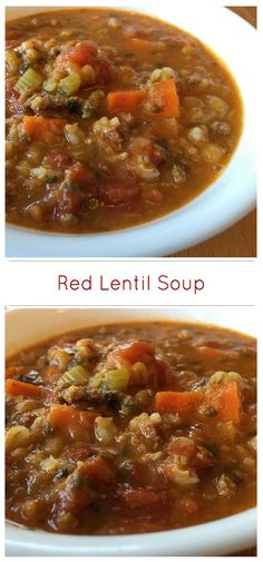 A thick and hearty red lentil soup. Barley adds a rich nutlike flavour and an appealing chewy texture. Red lentils add a sweet taste and help thicken the soup. This soup is prefect as a main dish, either served on its own or with biscuits or soda bread.