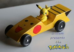 pokemon+pinewood | Note: not an electric car