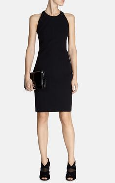 Structured pencil dress