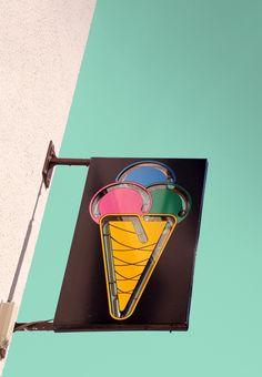 ice cream signage #Photography #Icecream
