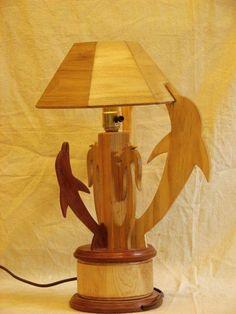 beach lamp decor pic #1