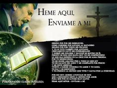 """""""Heme aquí, envíame a mi (Nueva versión)""""-Fernando Claure P."""