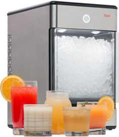 Opal Nugget Ice Machine For The Home Kind Of Fancy Only Found In Restaurants And Soda Fountain Machines Until Now