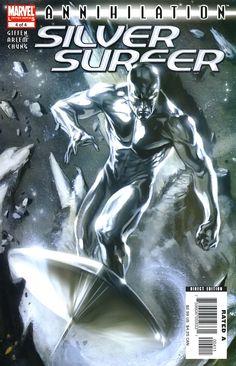 Annihilation: Silver Surfer #4//Gabriele Dell'Otto/D - E/ Comic Art Community GALLERY OF COMIC ART