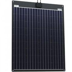 90W ETFE-ALU Solarmodul 12V semi-flexibel V Max, Vw Bus, Aluminium, Skyscraper, Motor Homes, Lawn And Garden, House, Skyscrapers, Vw Camper Vans