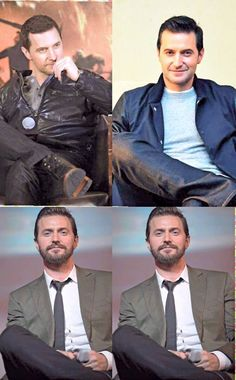 Anyone else think he kinda looks like Sebastian Castellanos from The Evil Within in those bottom pictures?