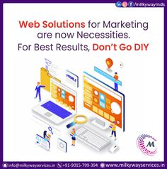You can't afford to waste time on experiments on your website that may or may not work. Better hire an accomplished web development company like Mikyway with proven success. Call ☎️ at : +91-9015-799-394 . . #development #websitedevelopment #webdevelopment #website #websitedesign #webdesign #developer #designing #technology #ecommerce #creative #design #software #softwaredevelopment #startup #business Web Development Company, Software Development, Parallax Website, Creative Design, Web Design, Ecommerce, Success, Technology, Marketing