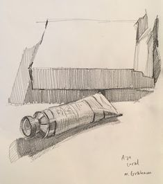 Sarah Sedwick - Page - Online Mentorship Program Object Drawing, Gesture Drawing, Line Drawing, Drawing Sketches, Art Drawings, Sketching, Still Life Sketch, Still Life Drawing, Still Life Art