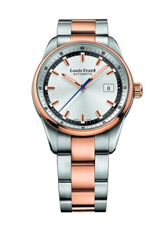 Men watches : Louis Erard Heritage Collection Swiss Automatic Silver Dial Men's Watch 69105AB21.BMA21