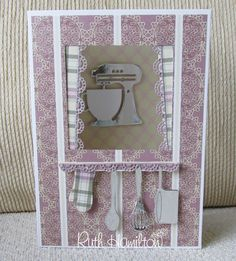 A Passion For Cards: Mum's kitchen - how to make this 3D card