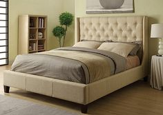 Jennifer Convertibles: Sofas, Sofa Beds, Bedrooms, Dining Rooms & More! Tan Queen Bed