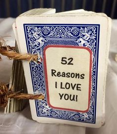 Use thrifted cards to create this heartfelt gift.