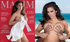 Ashley Graham goes topless on the cover of Maxim