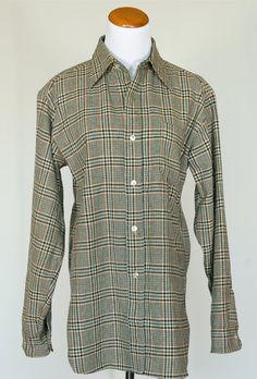 70's Vintage Pendleton Wool Shirt in Green by pinebrookvintage, $26.00