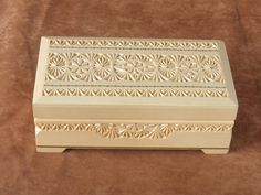Wooden box for money by ZloverRU on DeviantArt Chip Carving, Woodworking Box, Wood Boxes, Decoration, Decorative Boxes, Deviantart, Wood Carvings, Money, How To Make