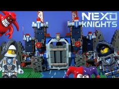 The Final battle is coming. This huge rolling castle is the biggest set in the NEXO KNIGHTS range so far. Knights, Battle, Lego, Legos, Knight