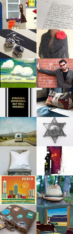 At the Western Motel by Anna Cull on Etsy--Pinned+with+TreasuryPin.com