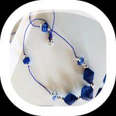 collana con perle di carta #carta #handmade#jewelry