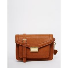 Marc B Small Cross Body Satchel ($81) ❤ liked on Polyvore featuring bags, handbags, shoulder bags, tan, satchel purse, tan satchel bag, satchel crossbody bag, crossbody purse ve satchel hand bags