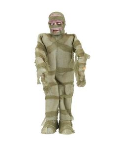 36 in. Animated Mummy with LED Illuminated Eyes, Halloween Decoration Ideas for Kids