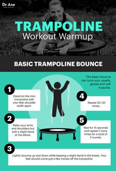 Benefits of rebounding and trampoline workout - Dr Axe