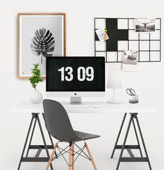metal wire grid board | swiss cross design mood board #gridboard #moodboard #scandinaviandesign