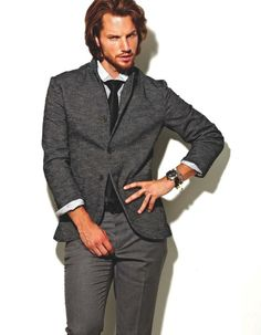 Hampus Lück Models Impressive Looks for Essential Homme