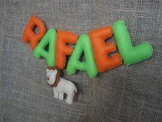Eu quem fiz!!!: SAFARI - nome Rafael
