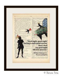 Romeo and Juliet William Shakespeare Verona love by naturapicta, $7.99