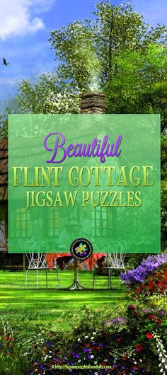 The Flint Cottage Jigsaw Puzzle is a beautiful 3000 piece jigsaw puzzle that challenges you while immersing you in the peace and tranquility. Difficult Jigsaw Puzzles, Wooden Jigsaw Puzzles, Maze Game, Hobbies For Couples, Stay At Home Mom, Famous Artists, Most Beautiful Pictures, Scenery, Paisajes