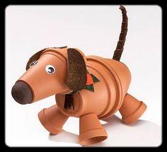 clay pot doggie
