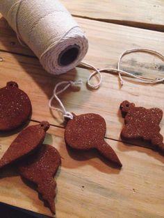 Shimmer Cinnamon Ornaments