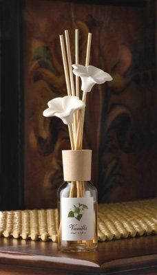 Vanilla Floral Pheromone Reed Diffuser by Pheromone Oil. $4.95. The sweet scent of vanilla creates a welcoming air of calm, gently drifting from the tips of slender diffusing reeds. Pretty clay flower tips add an extra-special decorative touch!. Save 29% Off!