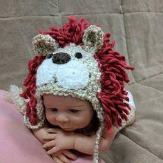 Newborn Lion Costume/Newborn Halloween Costume/Lion Outfit
