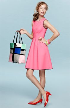 "kate spade new york 'carol' fit & flare dress | Nordstrom. Very ""Mad Men"""
