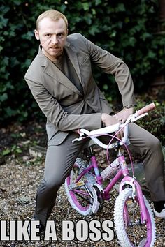 Fact: Simon Pegg is awesome.