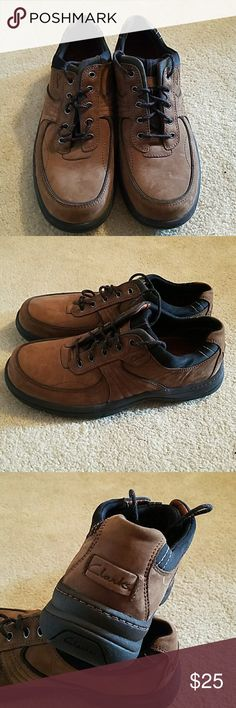 MENS SEUDE SHOES Brown seude never worn casual shoes Clarks Shoes Oxfords & Derbys