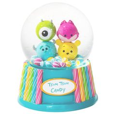 [Disney Store Snow Globe TSUM TSUM CANDY Disney characters | Disneystore and if gift gift of mail order and sales
