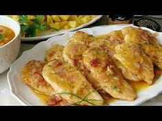 Pollo a la mostaza con panceta. Receta fácil y rápida - YouTube