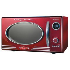 Nostalgia Electrics Retro Microwave Oven | Overstock.com Shopping - The Best Deals on Microwaves
