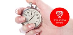Do you deserve the time saving award?
