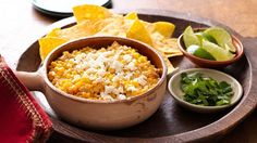 This is an incredibly easy dip version of the delicious and popular Mexican street corn; it will disappear quickly at your next game day get together!