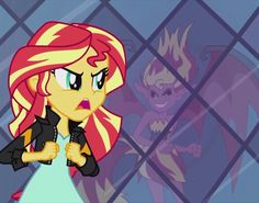 MLP. My Past is Not Today. Sunset Shimmer's dark past does not define her, cause her past is not today!!!