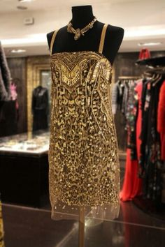 On the twelfth day of #Christmas my true love gave to me, golden glamour courtesy of Roberto Cavalli